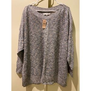 NWT Loft Plus Sweater